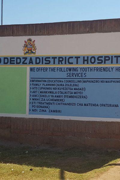 Narkosegeräte und Anästhesiematerial für District Hospital in Dedza